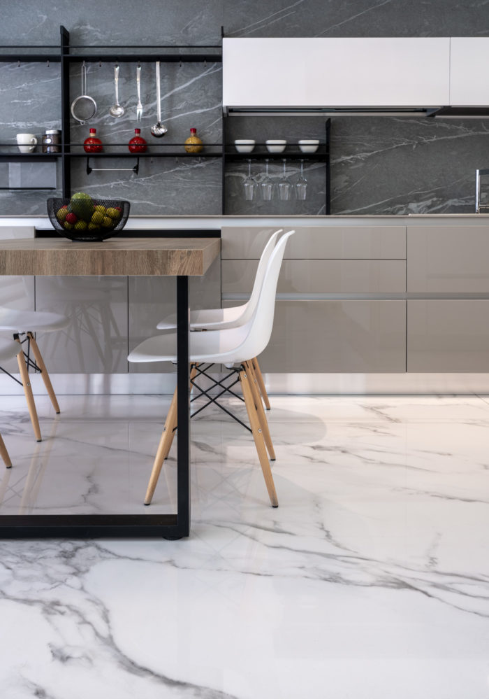 Mesa cocina gramarston piedra sinterizada