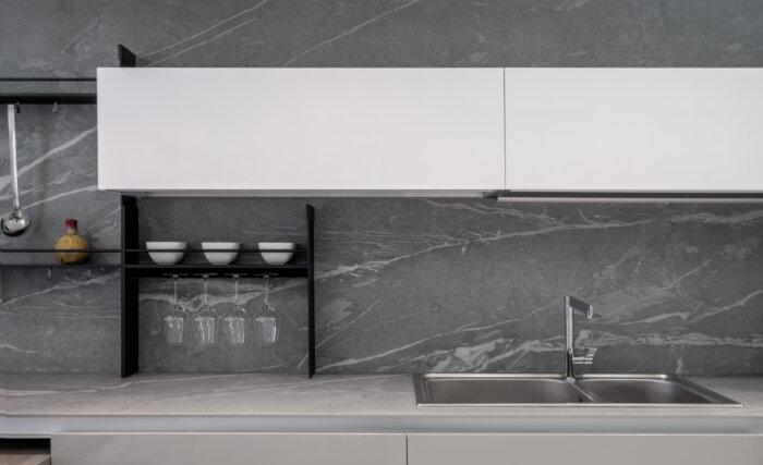 Muro de cocina Gramarston Piedra sinterizada